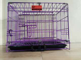 Collapsible Pet Crate - poop tray included