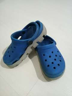 Crocs Original for Kid - Blue Grey Size C 10/11