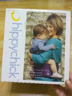🚚 英國 Hippychick Hipseat 坐墊式抱嬰腰帶(黑色)