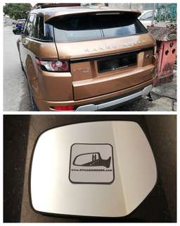 Land Rover Range Rover Evoque side mirror all models and series