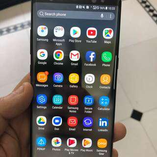 Used Samsung Note 8 256gb