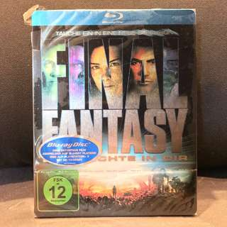 FINAL FANTASY THE SPIRITS WITHIN (2010, Germany, Region Free) Steelbook NEW US$69 | S$93