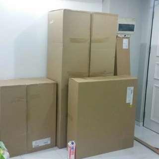 Big Huge Empty Cardboard Boxes