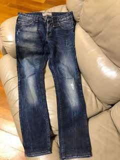 galliano牛仔褲,31吋腰