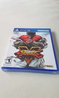 Street Fighter V PS4 New & Sealed