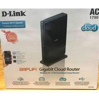 D-Link Gigabit Cloud Router Wireless AC1750 Dual Band Gigabit Cloud Router