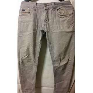 卡其色窄版長褲32腰 | 休閒褲|窄管褲|穿搭利器