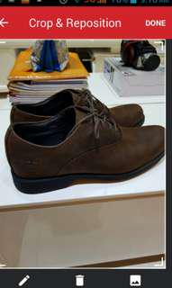🚚 BN Timberland with Ortholite Leather Shoes (Brand New)