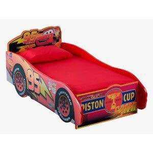 迪士尼反斗車王麥昆小童木床連床祳