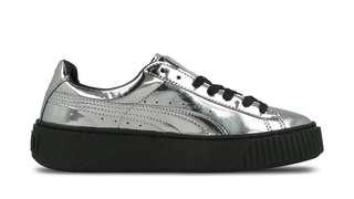 PUMA Creeper Metallic Sneakers Silver
