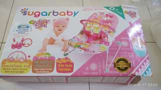 Sugar Baby Deluxe Musical Vibration Bouncer 0+ Month