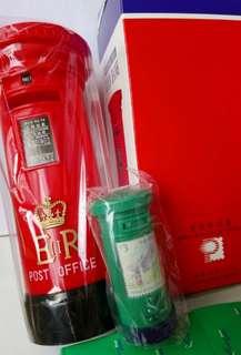 全新香港郵政官方發行郵筒兩個