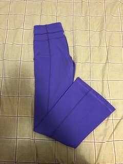 Lululemon Reversible Wide Leg Pants: size 4