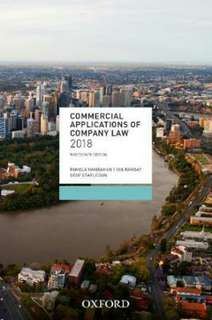 Commercial applications of company law 2018 textbook