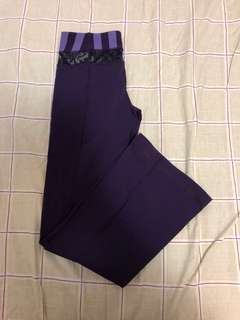 Lululemon Wide Leg Pants: size 4