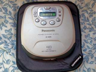 Panasonic sl-sx500 discman walkman cd player