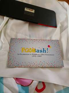 Posb bash posbbank 25th anniversary 1972-1997