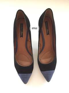 zara authentic suede shoes with defect
