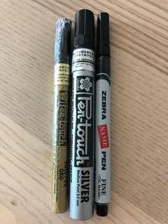 黑色 Marker