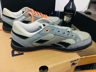 Jual reebok low 98% grey black