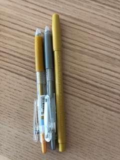 金銀色 原子筆