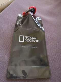 National Geographic Recycled bottle