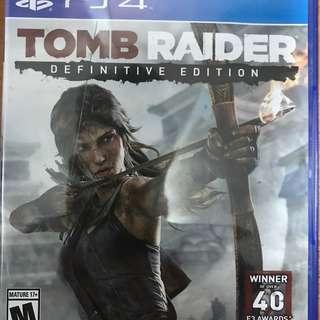 PlayStation 4 Tomb Raider Definitive Edition