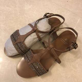 正貨!Lanvin Sandals (size 24 / EU39)