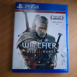 Ps4 Games witcher(reduced)