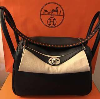 💯% Authentic Hermes Lindy 26