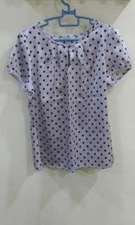 Polkadot Top/blouse #July70
