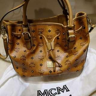 MCM Bucket Sling Bag