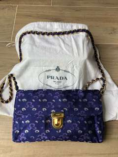 Prada handbag chain bag