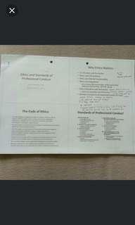 CFA Level 1 - Ethics Slides