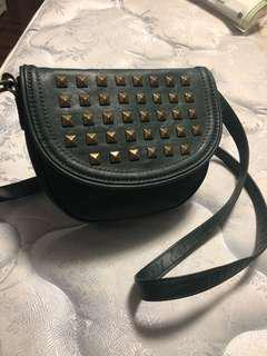 Material girl studded purse