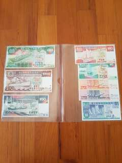 Ship Series Currency Notes