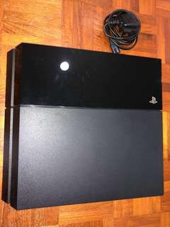 PS4 Console Only (No controller/box)