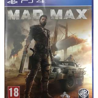 Playstation 4 Mad Max