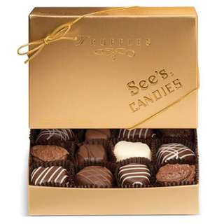 See's Candies 8oz Gold Truffles