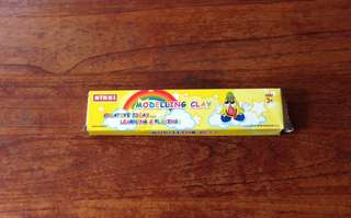 FREE - 4 packs of plasticine and instant clay