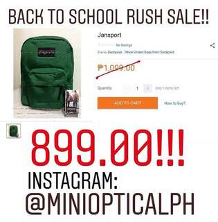 Authebtic Jansport