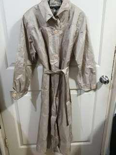 Long trench coat - brown