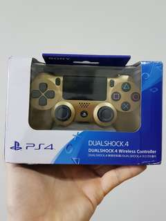 NEW DS4 GOLD CONTROLLER