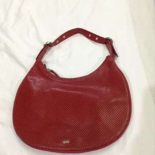 Original Mango Red handbag