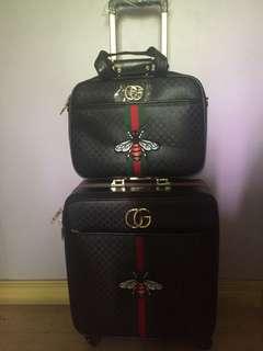 Gucci Luggage Set