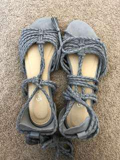 Sportsgirl sandals size 39 and 40