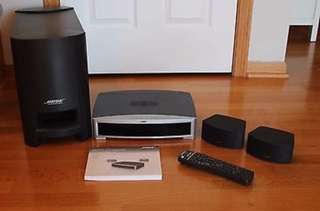 Bose 321 series iii ( comes with remote Very  expensive )