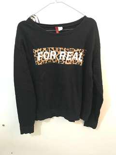 H&M Black Sweatshirt