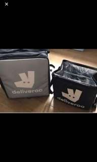 Deliveroo Bags (New) never use