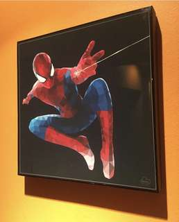 Spider-Man pop art poster